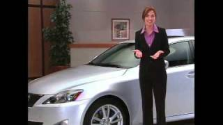 Lexus IS250 IS350 2009 Safety