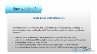 Earned Income Credit Schedule EIC