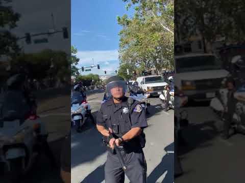 San Jose Riot Cop Fetishizes Killing Protesters