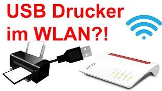 USB Drucker im Netzwerk (WLAN / LAN) für Windows und Android mit der Fritz!Box