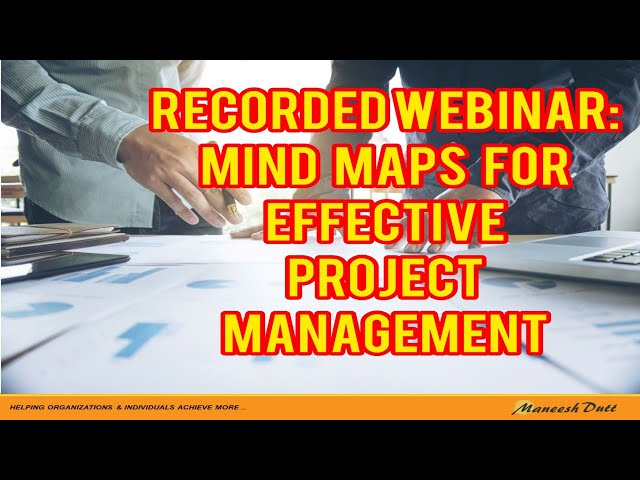 Using Mind Maps for Effective Project Management