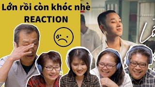 Cảm Động Khi Xem LỚN RỒI CÒN KHÓC NHÈ MV | TRÚC NHÂN #LRCKN | Ye's Coming Reaction