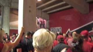 GAMECOCK chant leaving Williams-Brice after upset victory over #1 Alabama
