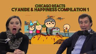 Chicagoans React to Cyanide & Happiness Compilation #1