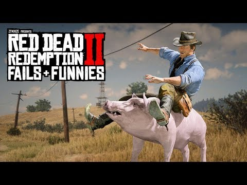 Red Dead Redemption 2 - Fails & Funnies #99