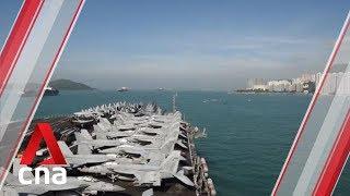 China suspends visits by US warships and aircraft to Hong Kong