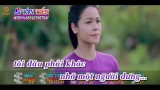 Gambar cover Karaoke HD  Thà Người Đừng Hứa   Nhật Kim Anh Full Beat