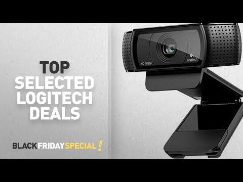 Black Friday Logitech Update: Logitech C920 HD Pro USB 1080p Webcam