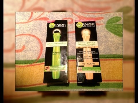 REVIEW GARNIER ROLL-ON CONTORNO DE OJOS | MARIEBELLE