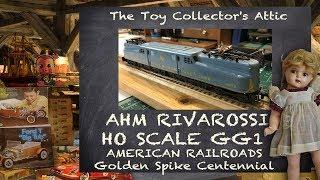AHM RIVAROSSI GG-1 American Railroads Centennial - Gold Spike