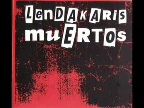 Lendakaris muertos ~ Gafas de pasta