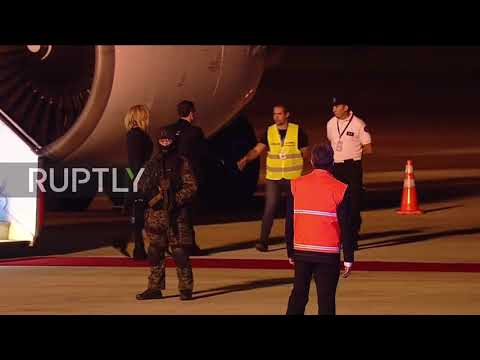 Argentina: Macron Greeted By Airport Employee In 'yellow Vest' After Arriving For G20 Mp3