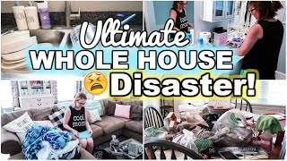ULTIMATE! Messy House Transformation | All Day Whole House Clean With Me 2019 | SAHM Motivation