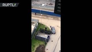 GTA Russia | Unknown gunmen start a firefight in Moscow