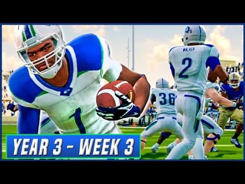 NCAA Football 14 Dynasty Year 3 - Week 3 @ Tulsa | Ep.39