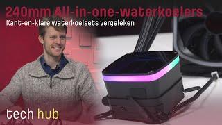 240mm All-in-one-waterkoelers - Kant-en-klare waterkoelsets vergeleken