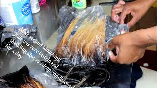 Dying Black Weave To Grey***FAIL