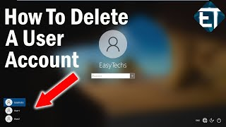 How To Delete A User Account on Windows 10 (2 Ways)   2020