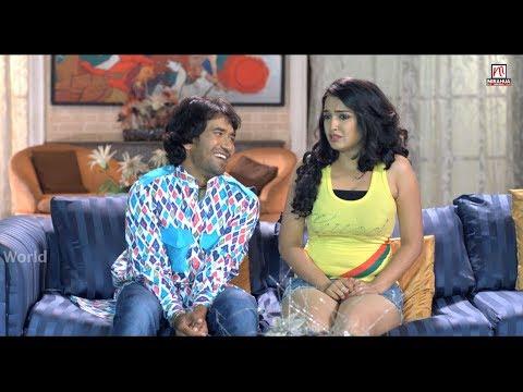 सुहागरात कब होइ | Best Comedy Schene | Nirahua Hindustani | Dinesh Lal Yadav | Aamrapali Dubey