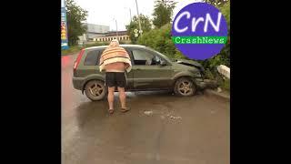 https://crashnews.org | Пьяный отец пятерых детей на машине врезался в стоб