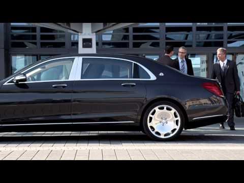 Mercedes-Maybach S-Class trailer