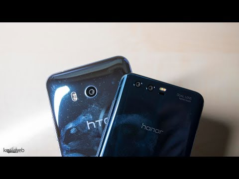 HTC U11 vs Honor 9: due Smartphone blu a confronto