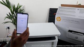 HP LaserJet Pro M28W Monochrome All in One Wireless Laser Printer setup  / connect to WIFI