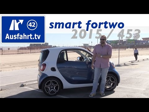 2015 smart fortwo (453) - Fahrbericht der Probefahrt, Test, Review (German)