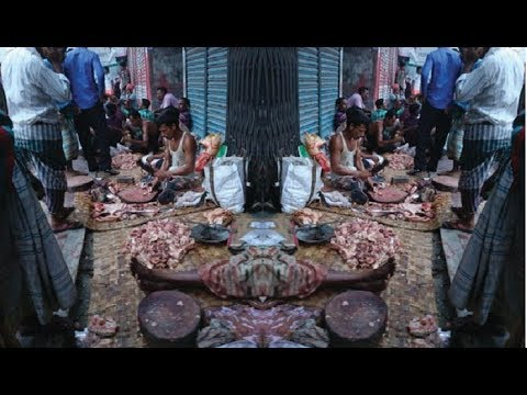 Qurbani beef market in Nadda, Baridhara in the capital