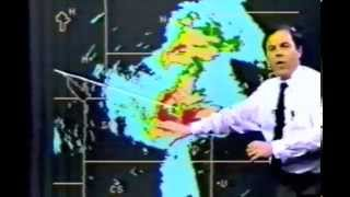 Mike Smith On Air Tornado Coverage  4-26-1991