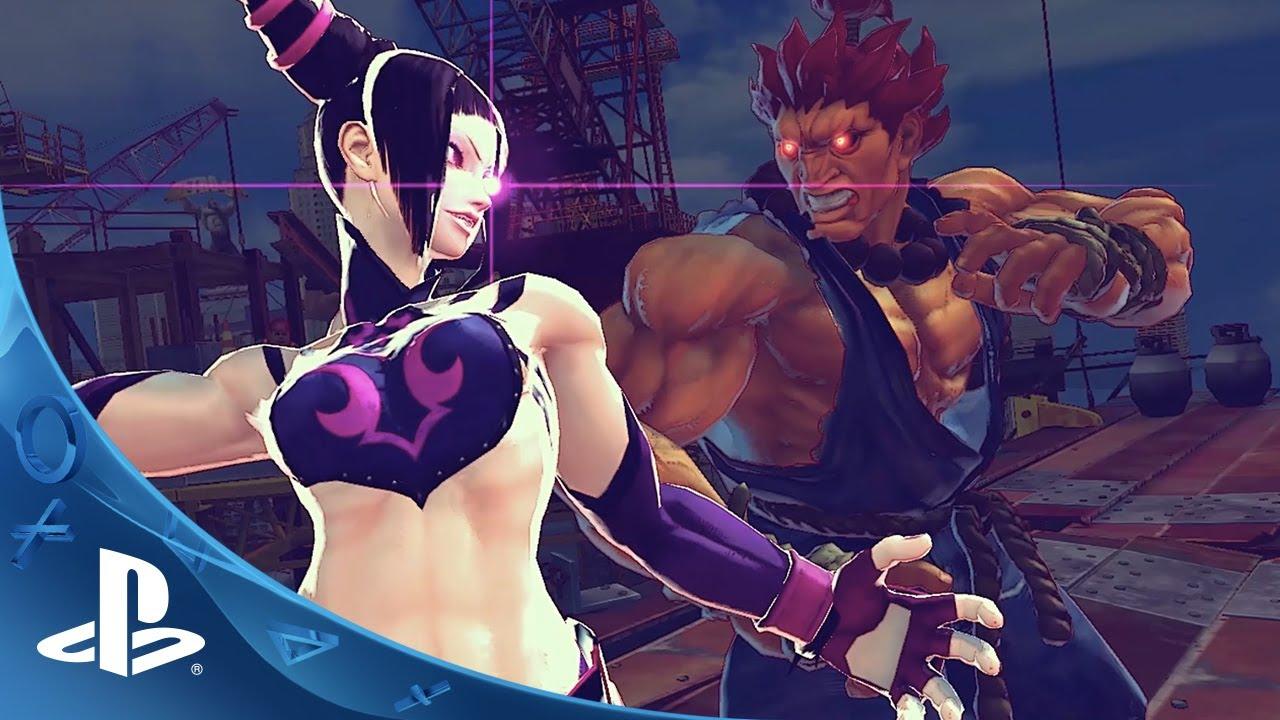 Ultra Street Fighter IV Chega ao PS4 na Terça-feira, Confira em Detalhes as Novas Melhorias