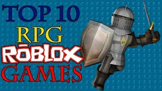 Top 10 BEST RPG Roblox Games