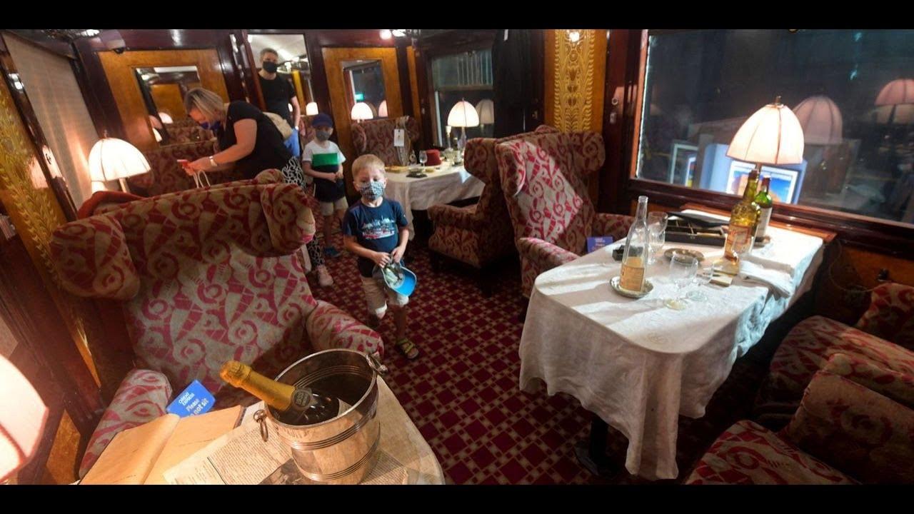 Journées du patrimoine : l'Orient Express fait escale à Lille