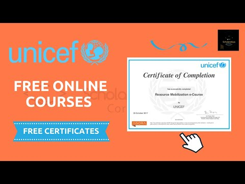 UNICEF Free Online Courses | Free Digital Certificate | How to Enroll?