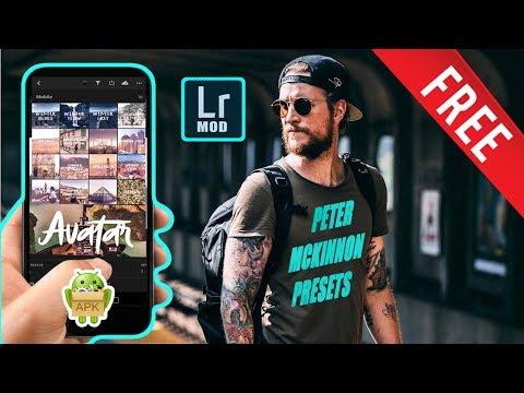 Lightroom Mobile Apk Pack With Peter McKinnon Presets 2018