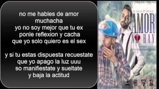 Amor No Hay - Dvice (Video)