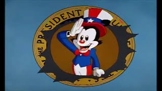 Animaniacs Presidents Song But Only The Good Presidents