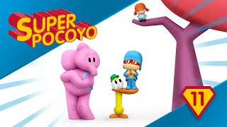 Super Pocoyo teaches us the value of teamwork