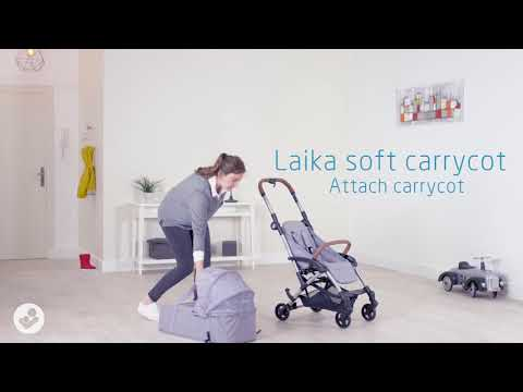 Maxi-Cosi Laika - How to assemble and install carrcot