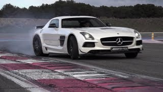 Mercedes SLS AMG Black Series: German Tyre Killer - /CHRIS HARRIS ON CARS