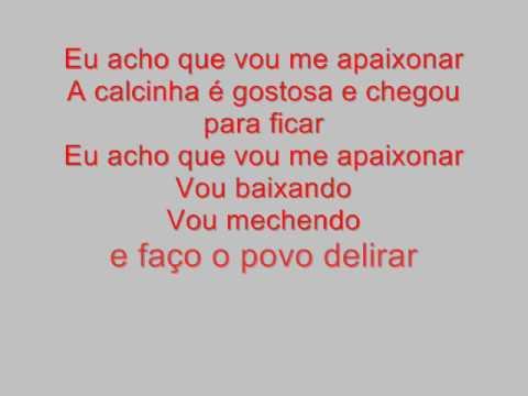 Música Calcinha Meteóro