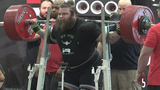 Over 800 lb Powerlifting Squat at 2017 LA Fit Expo