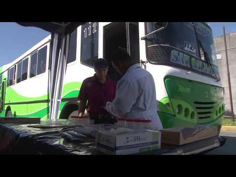 Terminal Nuevo Amanecer en Soyapango realiza campaña de control antidoping interno