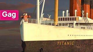 Masha et Michka - Titanic 🛳️ (Moteur… Action! )