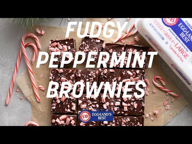 Fudgy Peppermint Brownies