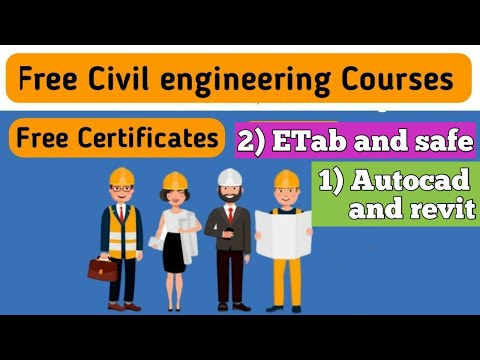 Free online civil engineering courses with certificate - YouTube