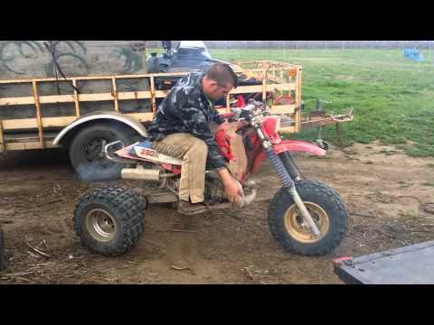 Redline Racing 521 banshee first rip  - Cj Brault - Video