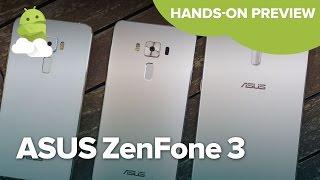 ASUS ZenFone 3 hands-on preview!