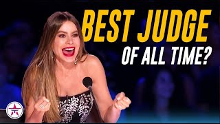 Is Sofia Vergara The BEST JUDGE Ever on America's Got Talent? If Not, Who Is?