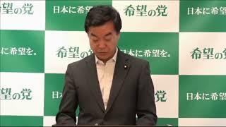 2018.7.12松沢成文代表定例記者会見希望の即答コーナースタート!